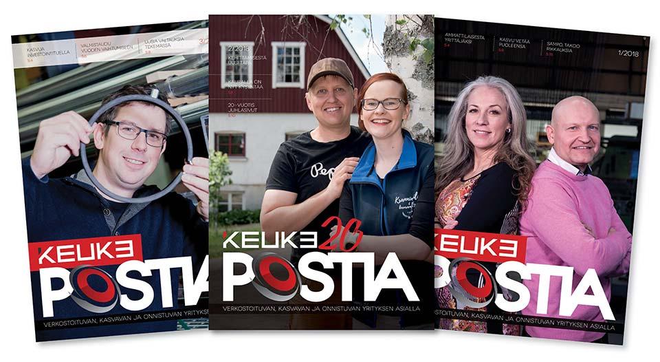 Keuke, Postia, kansi 0102